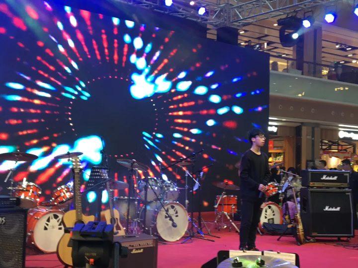 留笙迎新年狂欢会在杭州天虹购物中心拉开帷幕