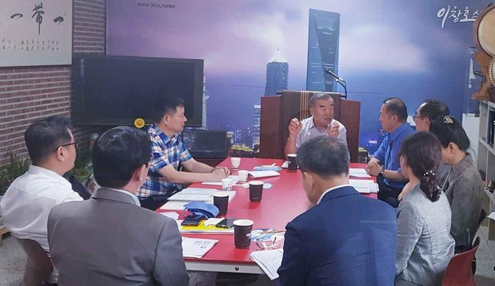 韩中联合日报社与韩国新华报社等联合举办实战记者培训研讨会